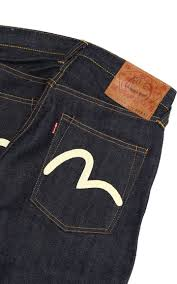 Evisu Jeans Size Chart Egd2005s2003 2005 14 5oz Slim Straight No 2 Denim Red Selvage