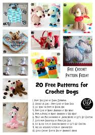 Free Crochet Dog Patterns Awesome 48 Free Patterns For Crochet Dogs Oombawka Design Crochet