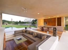 no furniture living room. The Sunken Living Room Creates A Separate But Not Isolate. Advantages Build Is That There No Need Wall Or Furniture To Create S