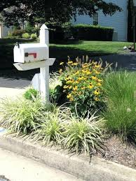 mailbox landscaping with culvert. Simple Culvert Landscaping Around A Mailbox Garden Idea  2 Triangular For Pictures With Culvert L