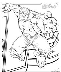 Play hulk coloring for free! The Avengers Hulk S2f57 Coloring Pages Printable