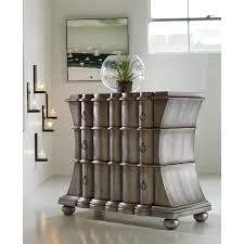 Zinc Finish Furniture Hooker Furniture 638 85025 Melange Scalloped Drawer Chest In Faux
