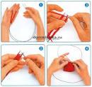 Вязание круга спицами для начинающих