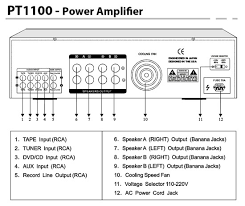pyle pt1100 1000w digital 2 channel stereo home audio speaker pyle pt1100 1000w digital 2 channel stereo home audio speaker amplifier amp