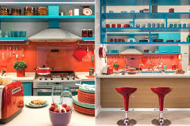 red and blue kitchen lovely orange and blue kitchen decor 6 red white and blue kitchen