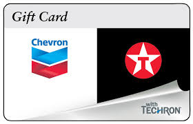 100 chevrontexaco gas physical gift card for only 94 free 1st cl delivery