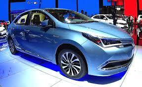 2016, 2017 Toyota Corolla Altis HEV Hybrid, All new Toyota Corolla ...