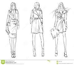 Sketch Fashion Girls биргитта эскизы эскиз