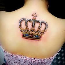 перевернутая корона тату корона значение