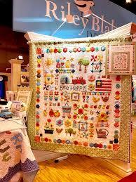 361 best Quilt Market images on Pinterest | Autumn quilts ... & Spring Quilt Market 2017 | Riley Blake Designs Adamdwight.com
