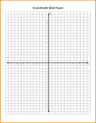 Free Printable Sample Of Coordinate Graph Paper Templates