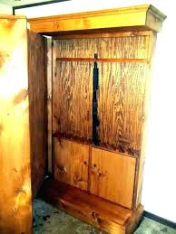 in wall storage cabinet closet convert to safe furniture large size solutions