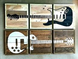 metal guitar wall art guitar wall art ideas decor the best on cool crazy hooks metal