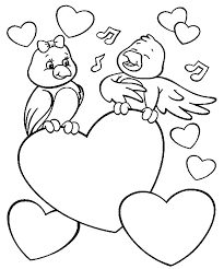 Small Picture Love coloring pages birds in love ColoringStar