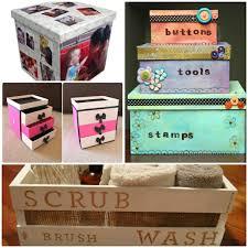 storage box storage boxes craft ideas decorating