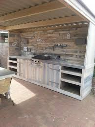pallet furniture. Simple Pallet 15 An Entire Kitchen For Every Barbecue Need On Pallet Furniture S