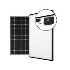 Mounting Structure Grid Tie 375Watt AC Solar Panel With Micro Inverter  System, Rs 22000 /piece | ID: 21152845348