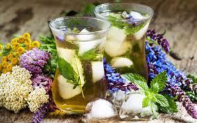 garden greens. Create A Better Iced Tea With Garden Greens, Flowers And Herbs Greens