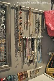 Jewelry Wall Organizer Best 20 Necklace Organization Ideas On Pinterest Closet Vanity