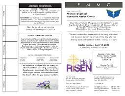 April 12 2020 Bulletin