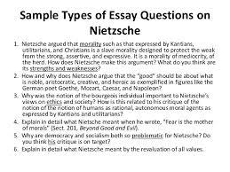 nietzsche friedrich wilhelm nietzsche 2 sample types of essay