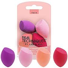 <b>Real Techniques 4</b> Mini Miracle Complexion Sponges, 1 Count ...