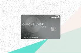 Capital one quicksilver cash rewards credit card: Capital One Quicksilverone Review Earn Credit And Cash