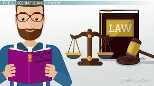 prejudice in angry men video lesson transcript com