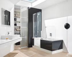 Contemporary Bathtub Shower Combo