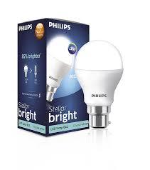 philips stellar bright 929001120914 b22 12 5 watt led bulb cool day light in home kitchen