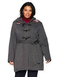 Yoki Size Chart Yoki Womens Plus Size Sherpa Lined Toggle Fleece Jacket With Belt