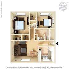 2 Bedrooms 1 Bathroom Apartment For Rent At Santa Cruz Apartments In El Paso,  TX