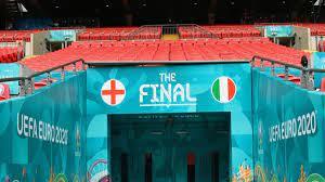 ملخص مباراة ايطاليا وانجلترا في بث مباشر بنهائي بطولة يورو 2020