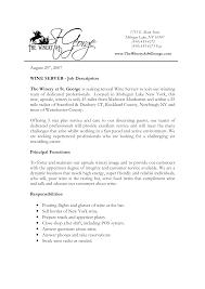 Best Waiter Job Description Resume Images Simple Resume Office