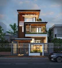 A frente dessa casa super moderna traz uma fachada vazada e o uso do branco como cor principal. Fachadas De Sobrados Veja 120 Modelos Modernos E Lindos