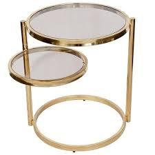 america brass swivel ring table