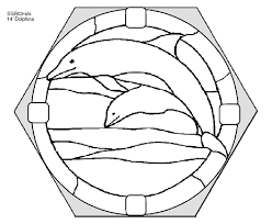 search for free stained glass patterns