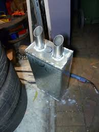 things to weld and sell. now this muffler is the biggest which can physically fit under back of an s13. it\u0027s extremely heavy because made from 1.6mm steel where regular things to weld and sell