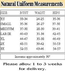 8 25 Tax Chart Texas Size Chart Natural Uniforms