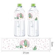 <b>Omilut</b> Alpaca Cactus Mineral Water Bottle Label <b>Mexican Party</b> ...