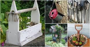 Brilliant garden junk repurposed ideas create artistic landscaping Garden Planters 25 Rustic Repurposing Ideas To Make Good Use Of Old Gardening Tools Diy Crafts 25 Rustic Repurposing Ideas To Make Good Use Of Old Gardening Tools