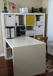 home office ikea expedit. this creative space craft room ikea expedit deck and shelving unit i love home office