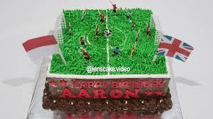 How To Make Birthday Cake For Kids Football Cara Membuat Kue Ulang