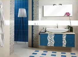 Light Blue And Grey Bathroom Ideas Bathroom Tiles Blue And White Tile Design Ideas Off White