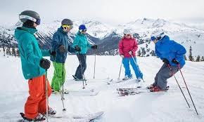 Snow School Ability Chart Whistler Blackcomb