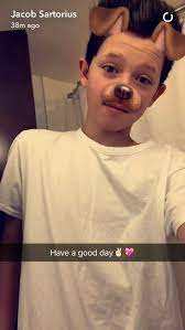 """Jacob } """"hi. I'm Jacob Hood. I'm 16. I'm a VineR and YouTuber. I make  Musical.ly's. I have 5 siblings. Intro?"""" 