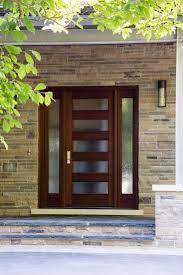 rain glass contemporary front doors