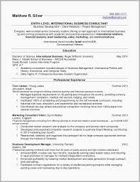 Free Example Resume Custom Example Resumes For College Students Free Download