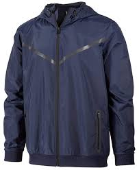 Id Ideology Size Chart Ideology Id Mens Water Resistant Hooded Jacket Large Navy