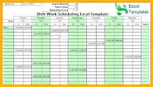 Free Employee Schedule Calendar Shift Schedule Free Free Employee And Shift Schedule Templates Shift